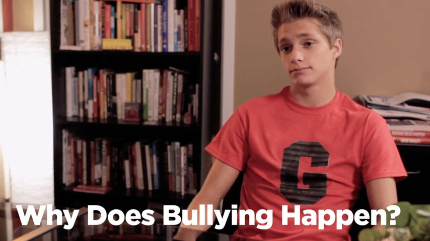 Why Does Bullying Happen?