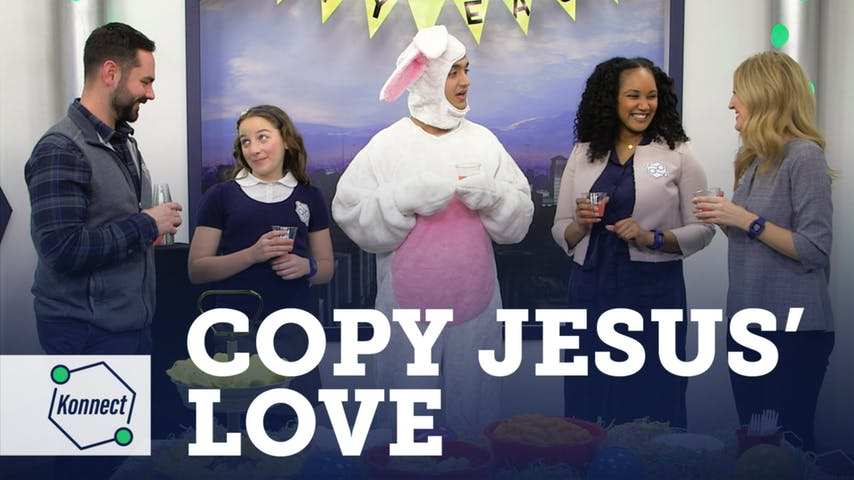 Copy Jesus' Love (Easter)