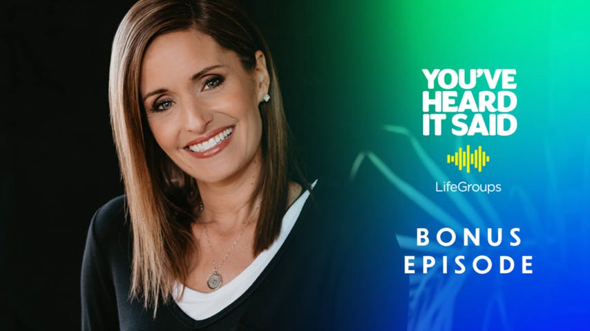 Pastor Amy Groeschel on Fighting Fear and Worry